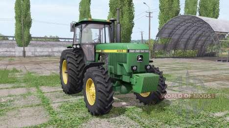 John Deere 4555 v4.0 for Farming Simulator 2017