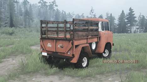 Jeep FC-150 for Spintires MudRunner