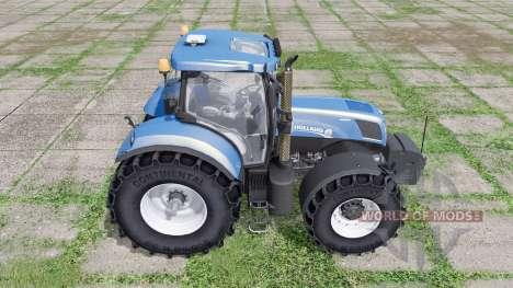 New Holland T7.250 for Farming Simulator 2017