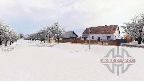 Snow Romania for Farming Simulator 2015