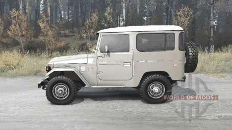 Toyota Land Cruiser 40 for Spintires MudRunner