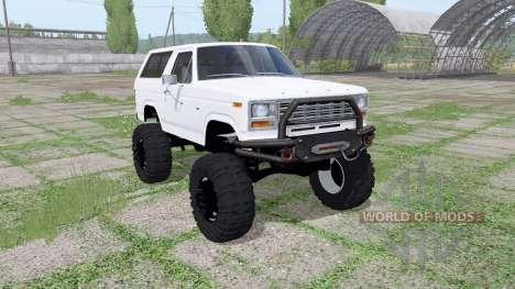 Ford Bronco for Farming Simulator 2017