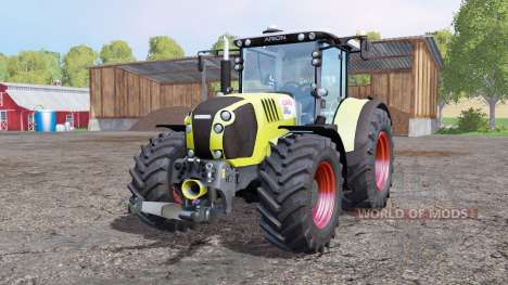 CLAAS Arion 650 ploughing spec for Farming Simulator 2015
