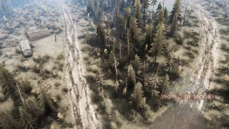 The flood for Spintires MudRunner