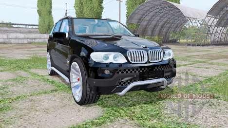 BMW X5 (E53) 2004 for Farming Simulator 2017