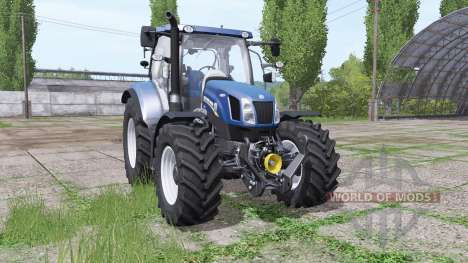 New Holland Т6.160 for Farming Simulator 2017