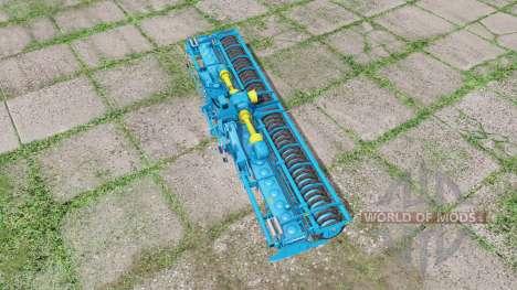 LEMKEN Zirkon 12-600 K for Farming Simulator 2017