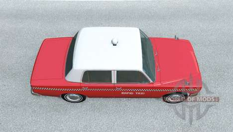 Ibishu Miramar Taxi for BeamNG Drive