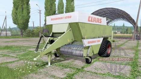 CLAAS Quadrant 1200 for Farming Simulator 2017
