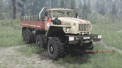 Ural 6614 for Spintires MudRunner