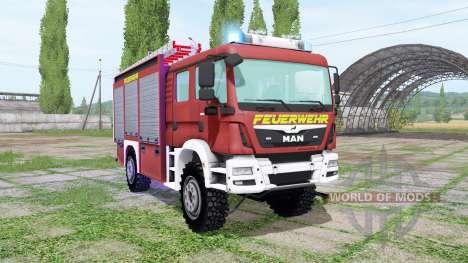 MAN TGM 13.290 Feuerwehr for Farming Simulator 2017