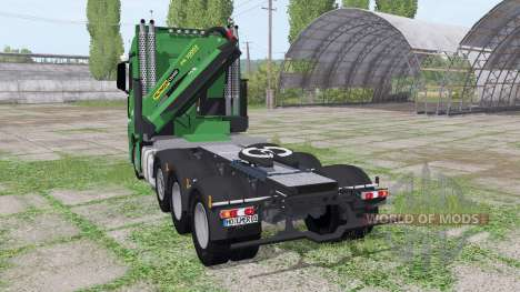 Mercedes-Benz Actros SLT (MP4) for Farming Simulator 2017