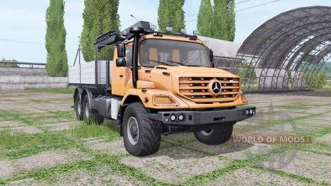 Mercedes-Benz Zetros for Farming Simulator 2017