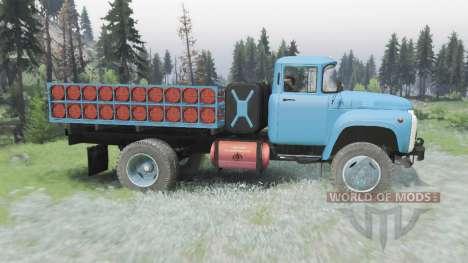 ZIL 130 4x4 v3.0 for Spin Tires