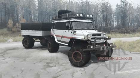 UAZ Bear for Spintires MudRunner