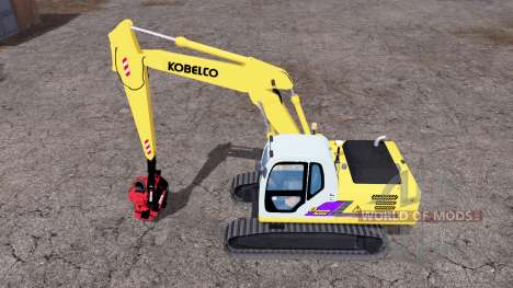 Kobelco SK160 LC for Farming Simulator 2015