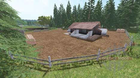 Altmühl hofen for Farming Simulator 2017