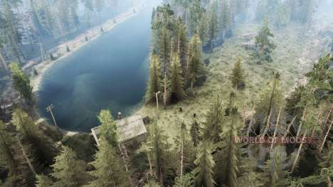 Forestry Red Hammer for Spintires MudRunner