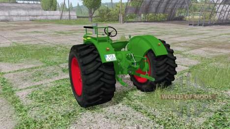 Deutz D 40S for Farming Simulator 2017