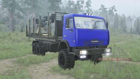 KamAZ 65115 for Spintires MudRunner