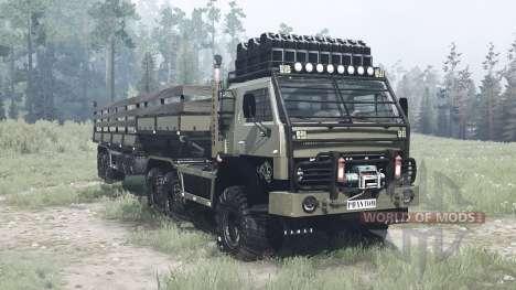 KamAZ 4410 for Spintires MudRunner