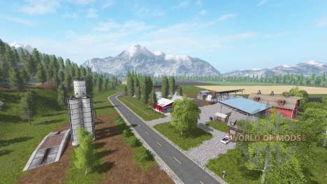 Montana - Black Mountain for Farming Simulator 2017