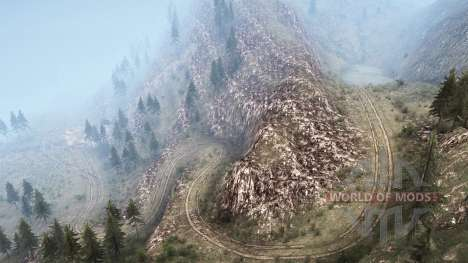 La luna 10 - American Wilds for Spintires MudRunner