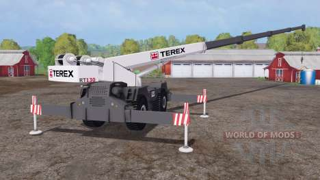 Terex RT 130 for Farming Simulator 2015