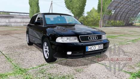 Audi A4 Avant (B5) 2001 v2.0 for Farming Simulator 2017