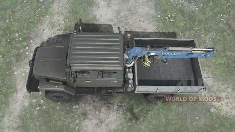GAZ 33081 for Spintires MudRunner