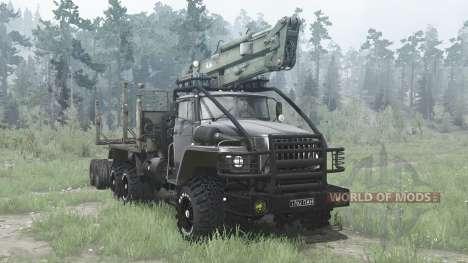 Ural 43204-31 for Spintires MudRunner