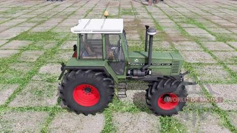Fendt Favorit 611 for Farming Simulator 2017