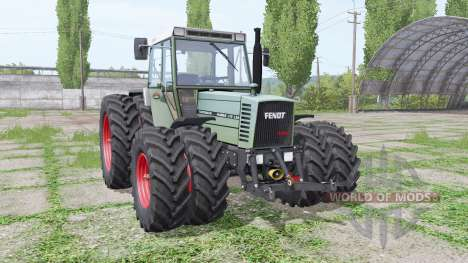 Fendt Farmer 310 LSA Turbomatik double wheels for Farming Simulator 2017