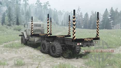 Ural 375Д for Spintires MudRunner