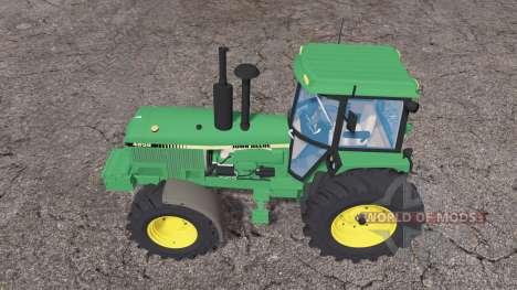John Deere 4850 weight for Farming Simulator 2015