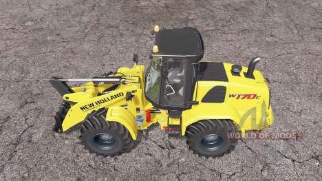 New Holland W170C for Farming Simulator 2015