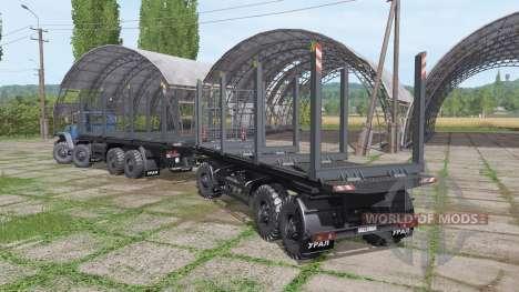 Ural 6614 for Farming Simulator 2017