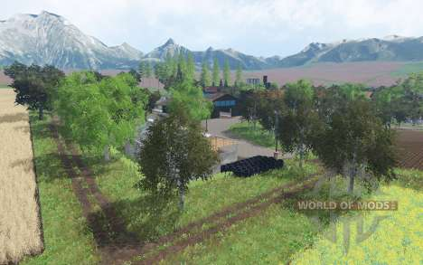Ammergauer Alpen for Farming Simulator 2015