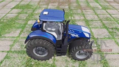 New Holland T7.315 HD Blue Power for Farming Simulator 2017