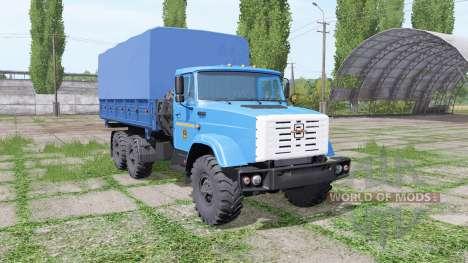 ZIL 4334 for Farming Simulator 2017