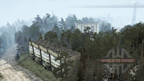 The development of the Aoyama outlet for Spintires MudRunner