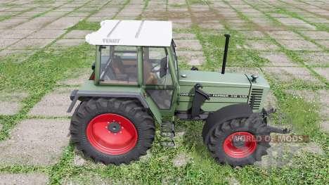 Fendt Farmer 312 LSA Turbomatik loader mounting for Farming Simulator 2017