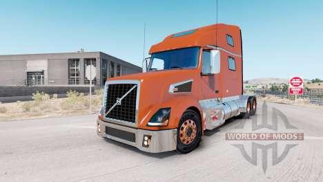 Volvo VT880 Raised-Roof Sleeper cab v1.4.1 for American Truck Simulator