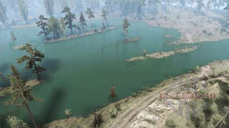 Adventure on the water for Spintires MudRunner