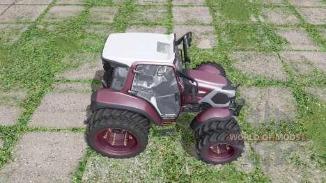 Lindner Lintrac 90 double wheels for Farming Simulator 2017