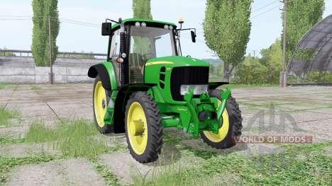 John Deere 7430 Premium narrow tires for Farming Simulator 2017