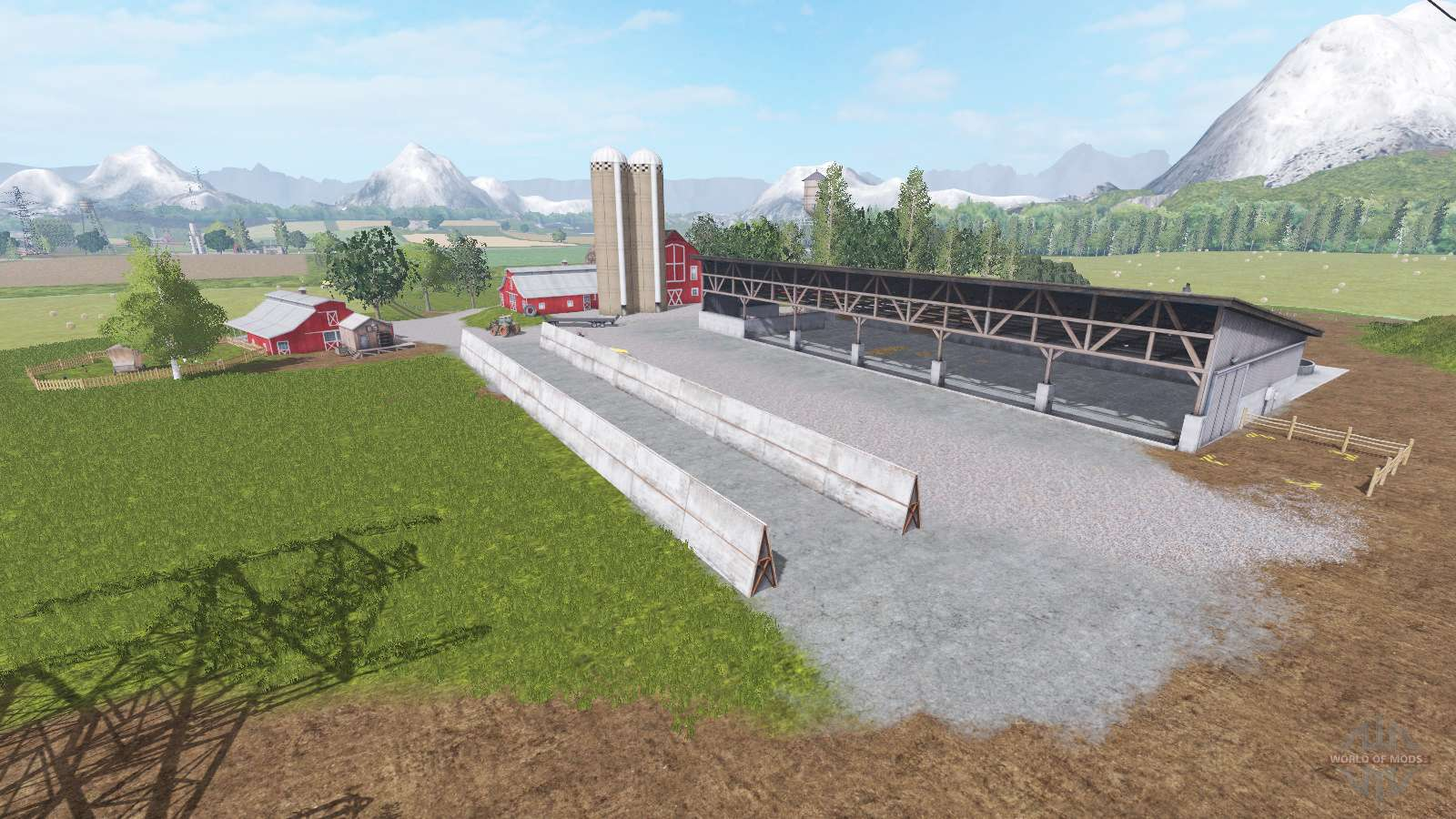 Goldcrest Valley edited for Farming Simulator 2017