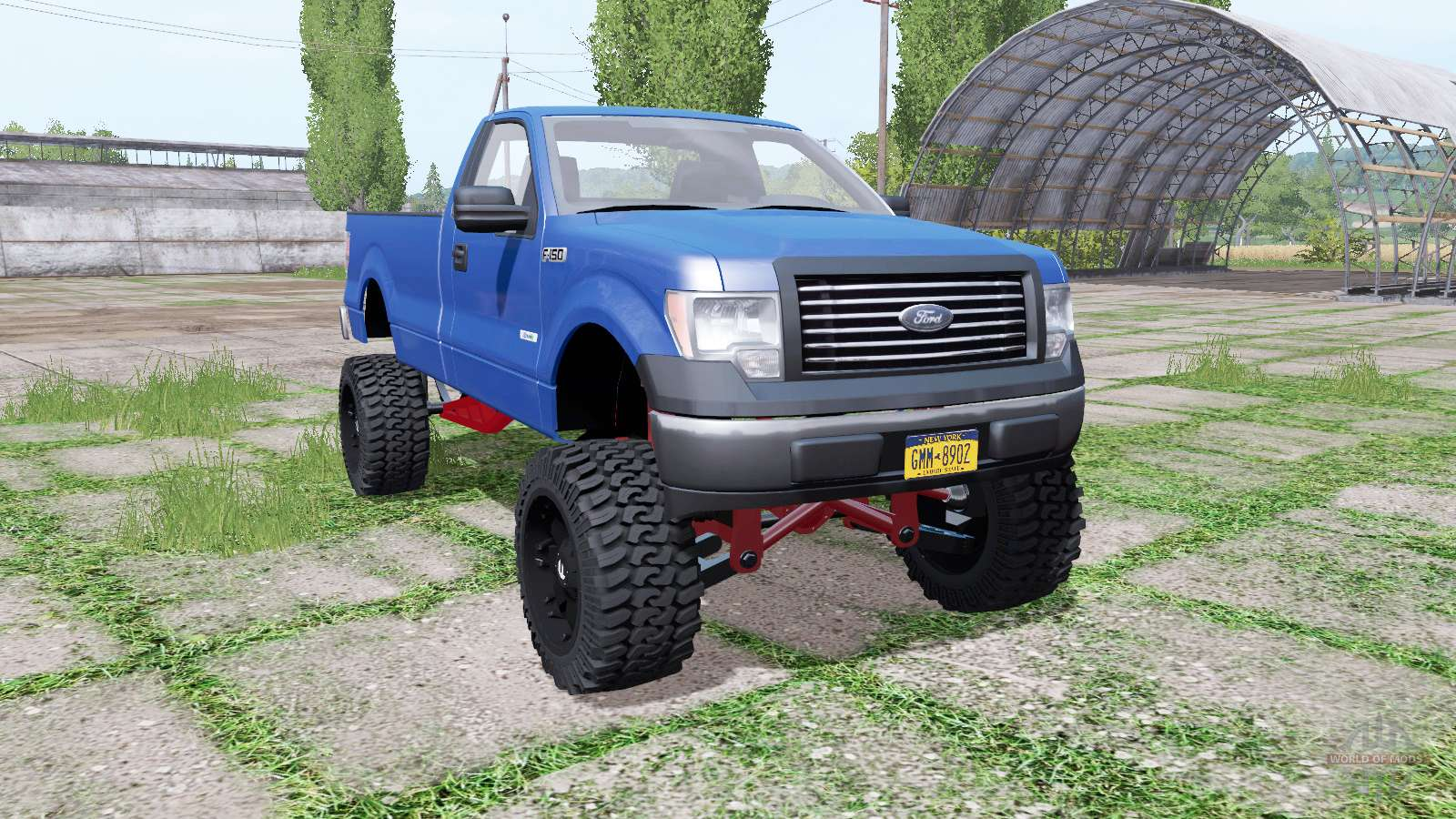 Ford F-150 EcoBoost Regular Cab lifted for Farming ...