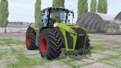 CLAAS Xerion 5000 Trаc VC for Farming Simulator 2017