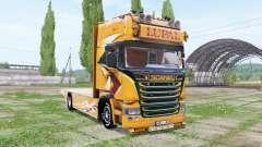 Scania R Topline Lupal for Farming Simulator 2017